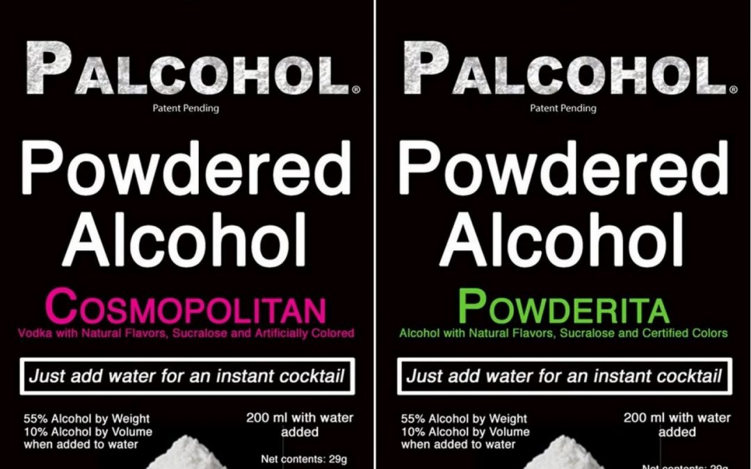 Powdered Alcohol, Caffeine Ban in Illinois 2016